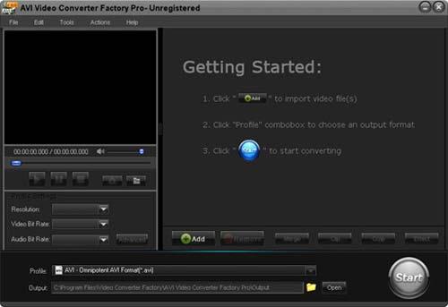 """Wonderfox AVI Video Converter Factory Pro - 将视频文件转换为 AVI 格式丨""""反""""斗限免"""