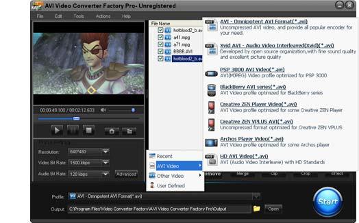 a1f009c4a7c9 AVI Video Converter Factory - Video Converting Software to Convert ...