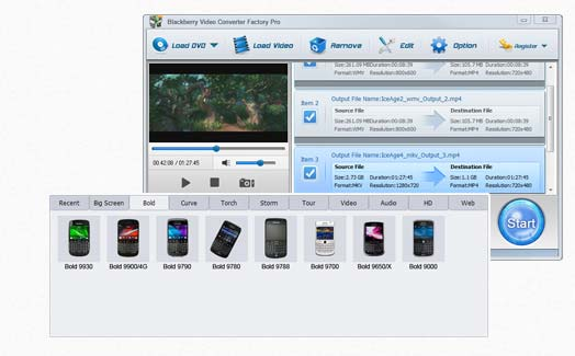 BlackBerry Video Converter