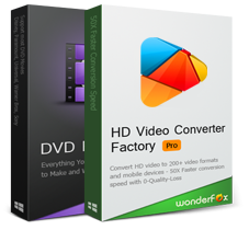 WonderFox DVD Ripper Pro + HD Video Converter Factory Pro