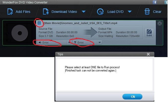 dvd video size