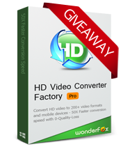 HD Video Converter Factory Pro 18.9 Giveaway