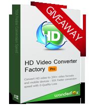 Wonderfox HD Video Converter Factory Pro 18.9 Giveaway