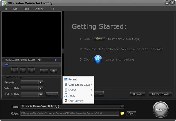 3GP Video Convertor