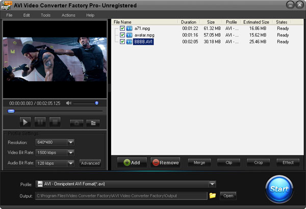 AVI Video Convertor