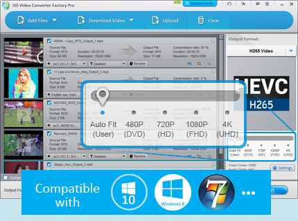 Wonderfox HD Video Converter Factory Pro 9