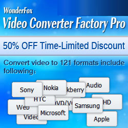 Video Converter Factory Pro Time-limited Discount 50% OFF