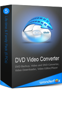 WonderFox DVD Video Converter 5PCs License