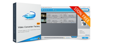 Video Converter Factory Pro