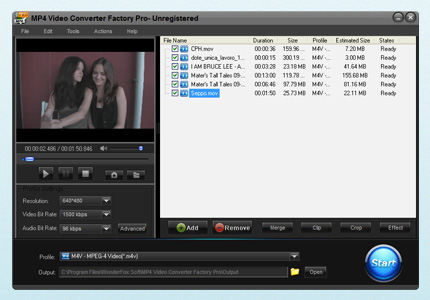 FREE MP4 Video Converter Facto...