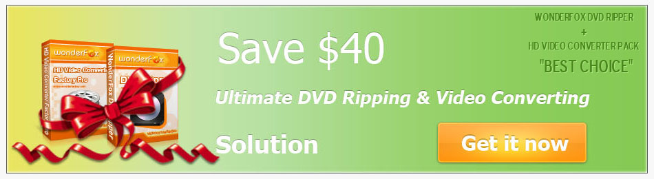 WonderFox DVD Ripper + HD Video Convetrer Pack