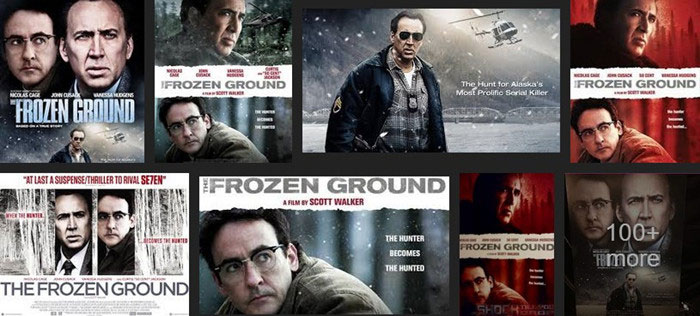 Rip DVD The Frozen Ground: the Hunter Becomes the Hunted