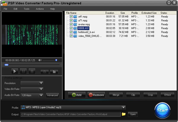 PSP Video Converting Software