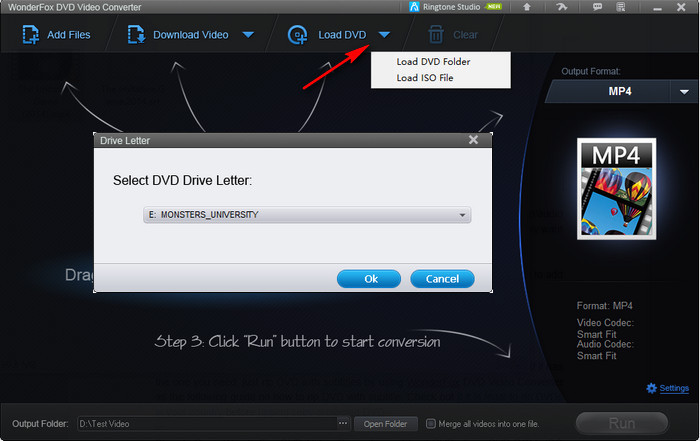 How to add subtitles to dvd movie or rip dvd with subtitles load dvd from dvd rom iso image or dvd folder ccuart Gallery
