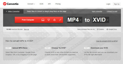 MP4 to Xvid– Convert MP4 to Xvid Effortlessly