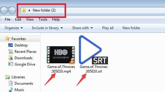 Add subtitle to mp4 how to add external srt subtitle to mp4 miui create a new folder 2 drag both mp4 video file and srt subtitle into the same folder 3 rename subtitle file as the same name as the video file ccuart Choice Image