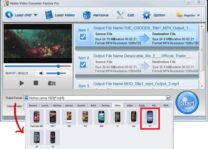 Конвертер для видео на нокиа 5230