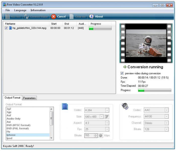 Convert AVI to MP4 One Free Video Converting Software
