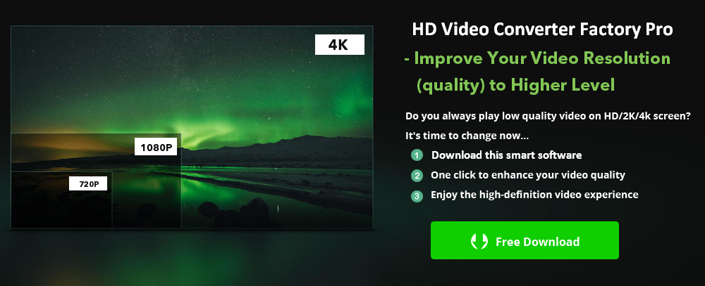Convert 720P to 1080P - Meet Your Demand for Higher Quality