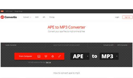 из ape в mp3
