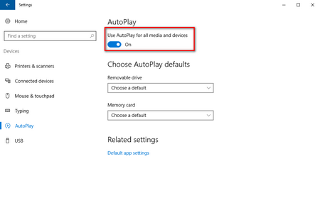 Windows 10 AutoPlay Not Working – How to Enable AutoPlay