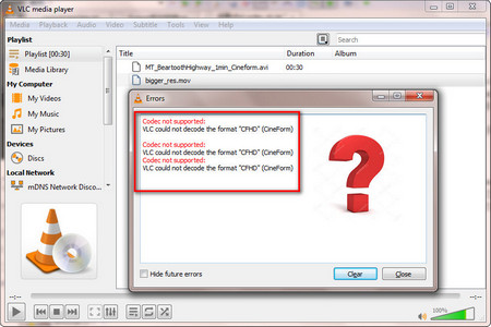 Effortless Methods for Fixing the Issue of CFHD Codec VLC Playback