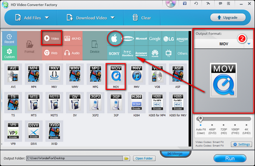 how to convert wmv to mov on pc
