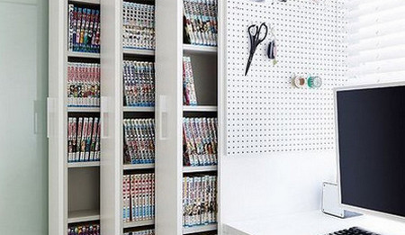dvd shelf ideas & The Most Novel and Creative DVD Storage Ideas