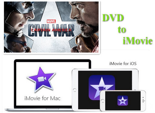 Best DVD to iMovie Ripper and Editor: Grasp an Easy