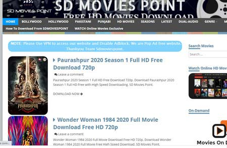 2020 The Best 7 Sites for Free Movie Downloads No Registration
