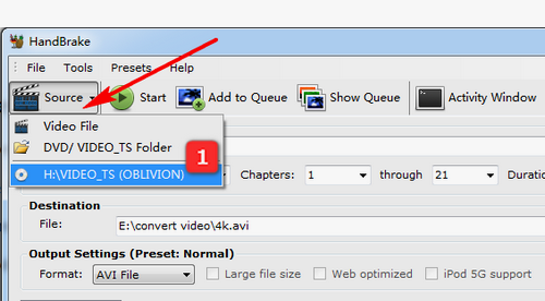 Fixed - How to Convert Video and DVD to AVI via HandBrake