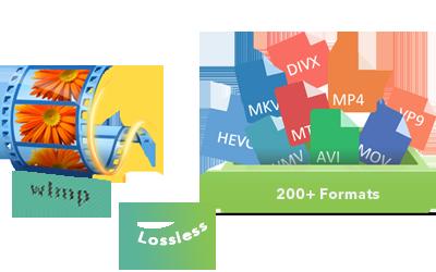 Wlmp til mp4 converter programvare