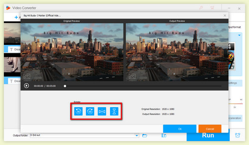 How to rotate video 4 methods to rotate your videos free rotate setting ccuart Choice Image