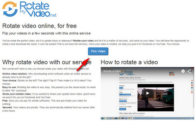 How to rotate video 4 methods to rotate your videos free site for rotating videos ccuart Choice Image