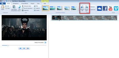 How to rotate video 4 methods to rotate your videos free rotate with movie maker ccuart Images