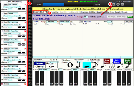 How to Play MIDI File with Recommended MIDI Player