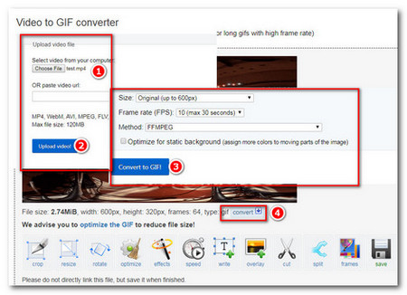 gif to mp4 converter