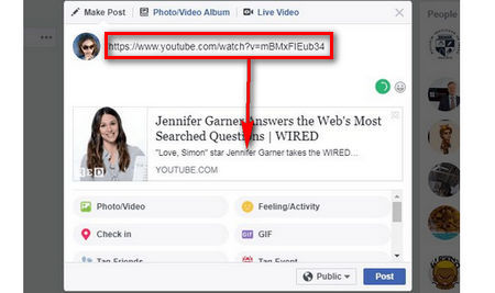 How to Post a YouTube Video on Facebook?