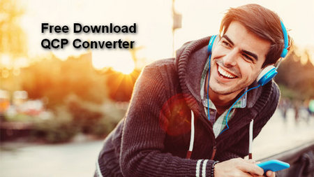 How to convert qcp to mp3 for better compatibility with various.