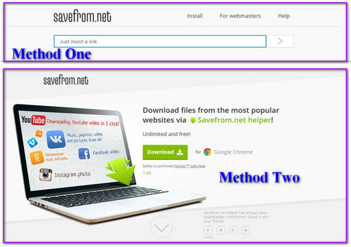 SaveFrom Net Alternative – Enable You to Download Online ...