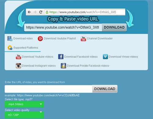 Top 5 Sites Like KeepVid – Enable You to Download Online