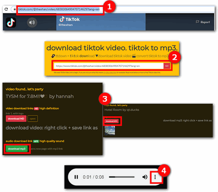 Desktop And Online Solutions For Tiktok Song Downloading