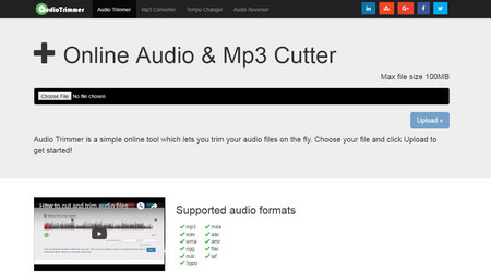 The Detailed Review on Top 5 Online MP3 Editors