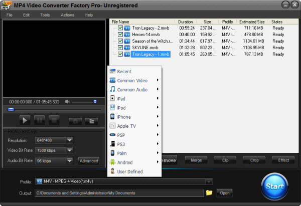 Video Converter from FLV to MP4 - Occupy the Popular as Your Own