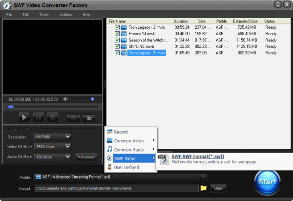 Free SWF Video Converter Makes You Wandering in the Animation World
