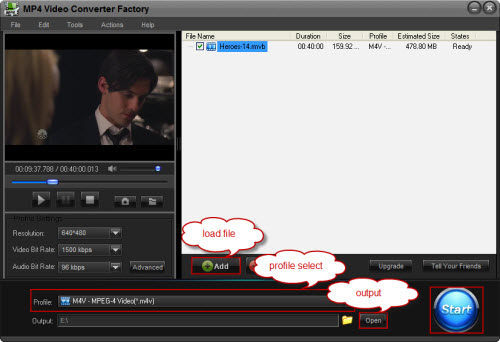 How to convert flv to mp4 with free hd video converter factory.