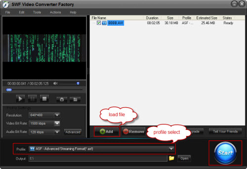 Convert Video to SWF - Just Make the Change to SWF Format