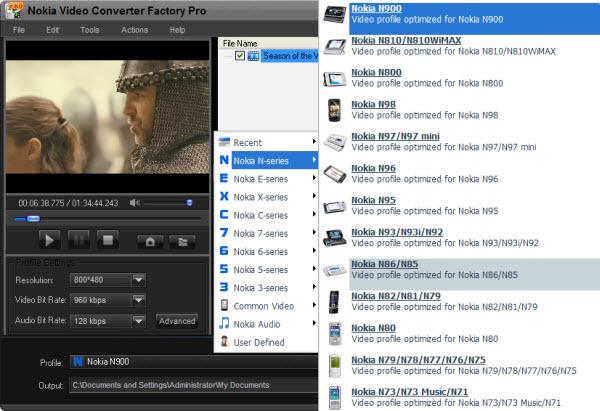 Free Nokia Video Converter Factory 6.1