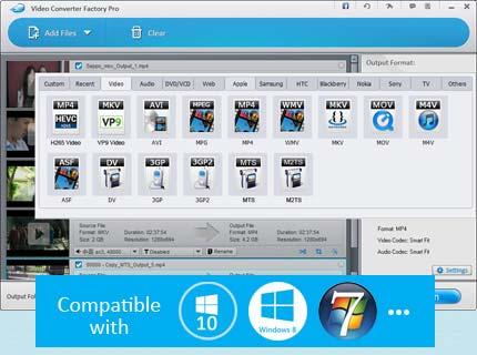 Video Converter Factory Pro - Best Video Conversion Solution
