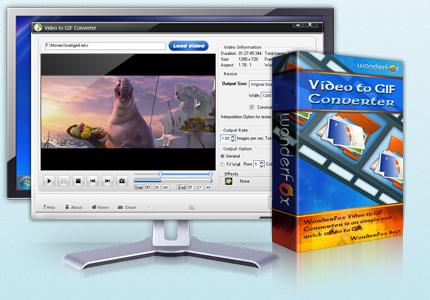 WonderFox Video to GIF Converter v1.1 + Serial [Multi]